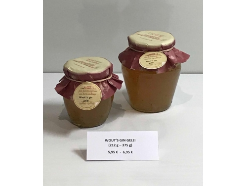 WOUT'S GIN JELLY
